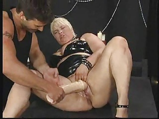 German BBW – Fist – Squirt – Assfuck ROUGH