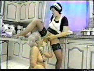Granny Fisted By Her Maid…F70