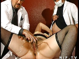Fat French Mature Gets Weird Anal Insertions