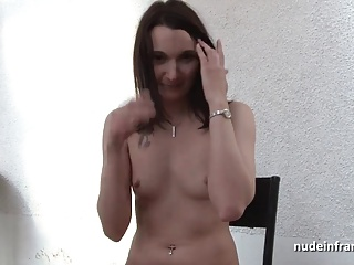 Sublime Brunette Deep Sodomized For Amateur French Casting