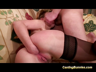 Casting Bunny Fucking And Sucking Her Boyfriends Cock