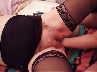 Big Hairy Cunt Gets Fisted