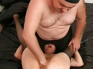 Sperm Lubricated Fist Fucked Amateur Slut