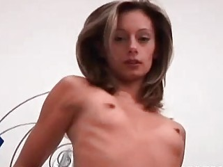 Lesbian Skinny Slut Gets Deep Fisted In Bed