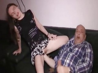 Slutty Teen Fist Fucked By An Old Pervert