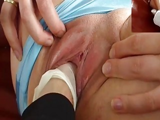 Perverted Old Man Fisting Skinny Teens Pussy
