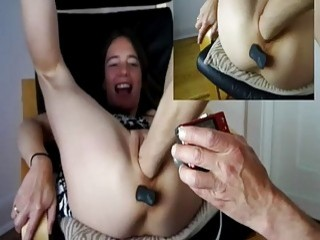 Fisting And Pissing On Horny Teen Slut