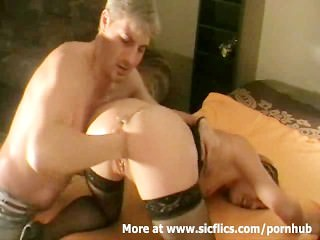 Fisting The Wifes Loose Pussy