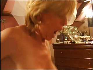 French Mature Has Anal