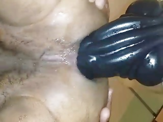 Rode This Giant 10 Inch Round Dildo All Night.