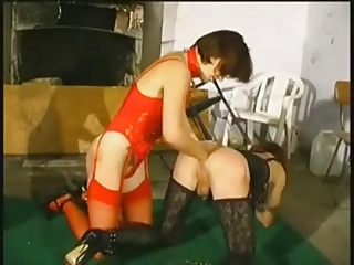 Mistress Strapon And Fist Her Sissy Boy