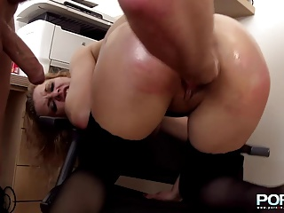 PornXN Using Your Secretary Anal