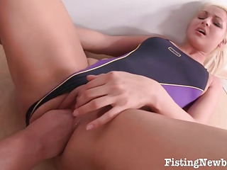 Pussy Fisting Performed With No Mercy