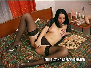 Hot Little Fisting Slut Get Mouth Fucked
