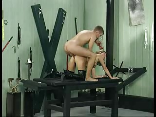 Horny German MILF Analized And Fisted In Two Scenes