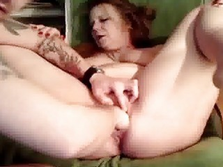 Bizarre Housewife Brutally Fisted In Both Holes