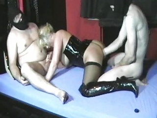 Amateur Wife Fisted By Her Hubby And His Friend