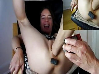 Brutally Fisting And Pissing On Perverted Teen