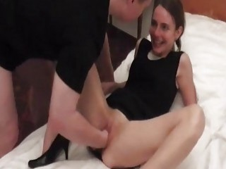 Brutally Fisting Petite Teens Wrecked Loose Pussy