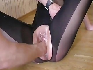 Fisting Her Greedy Teen Pussy Till She Squirts